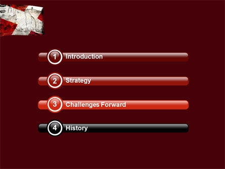 Denmark PowerPoint Template, Slide 3, 05046, Flags/International — PoweredTemplate.com