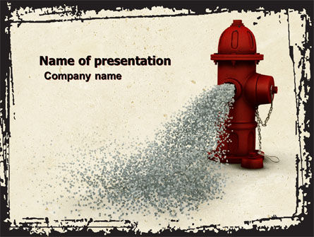 Fire Hydrant PowerPoint Template