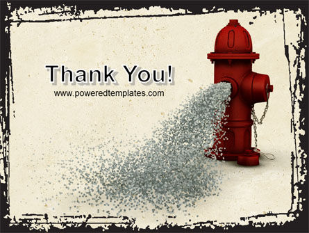 Fire Hydrant PowerPoint Template Slide 20