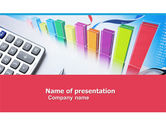 Financial/Accounting: Estimate Calculation PowerPoint Template #05048