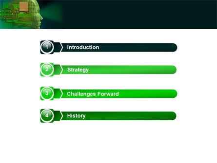High Tech Era PowerPoint Template, Slide 3, 05057, Technology and Science — PoweredTemplate.com