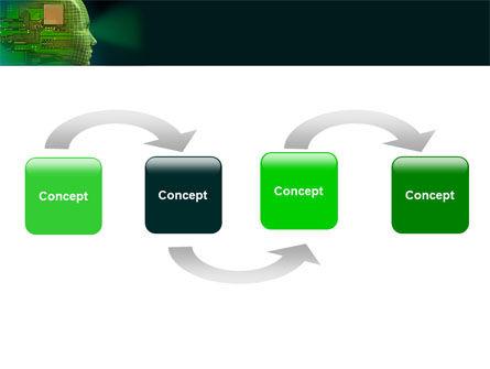 High Tech Era PowerPoint Template, Slide 4, 05057, Technology and Science — PoweredTemplate.com