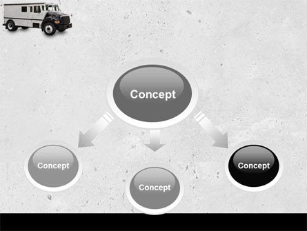Armored Car Free PowerPoint Template, Slide 4, 05059, Careers/Industry — PoweredTemplate.com