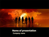 Careers/Industry: Success Story PowerPoint Template #05060