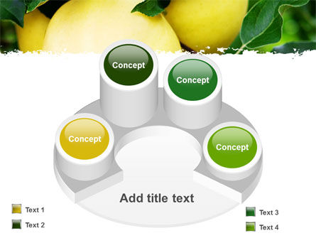 Yellow Apple PowerPoint Template Slide 12