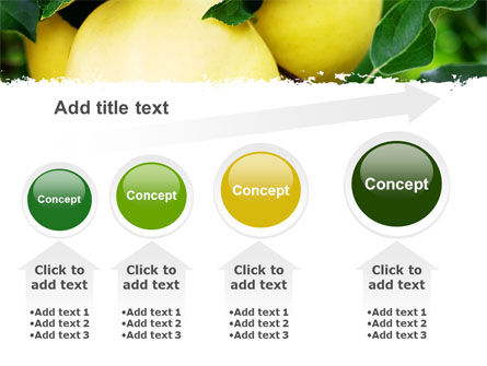 Yellow Apple PowerPoint Template Slide 13