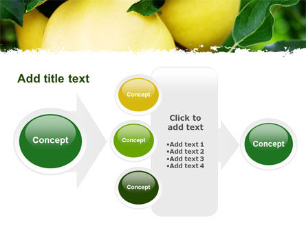 Yellow Apple PowerPoint Template Slide 17