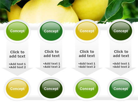 Yellow Apple PowerPoint Template Slide 18