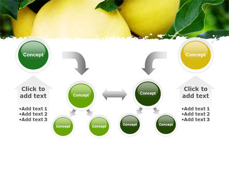 Yellow Apple PowerPoint Template Slide 19