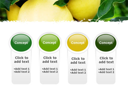 Yellow Apple PowerPoint Template Slide 5