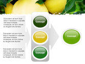 Yellow Apple PowerPoint Template#11