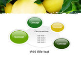 Yellow Apple PowerPoint Template#16