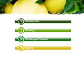 Yellow Apple PowerPoint Template#3