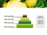 Yellow Apple PowerPoint Template#8