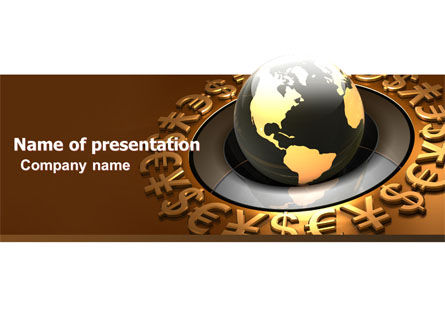 Global Currency PowerPoint Template