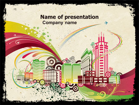 Urban Design PowerPoint Template