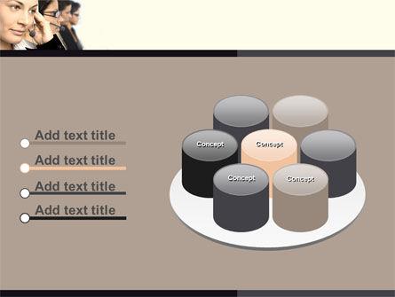 Call Center PowerPoint Template Slide 12