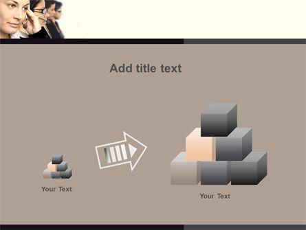 Call Center PowerPoint Template Slide 13