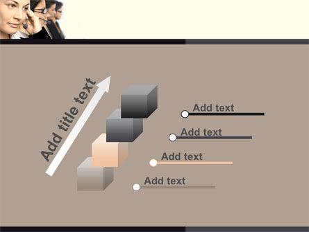 Call Center PowerPoint Template Slide 14