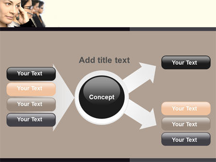Call Center PowerPoint Template Slide 15