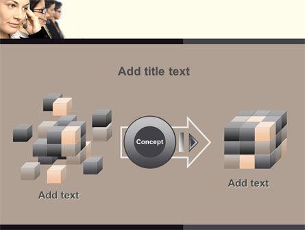 Call Center PowerPoint Template Slide 17