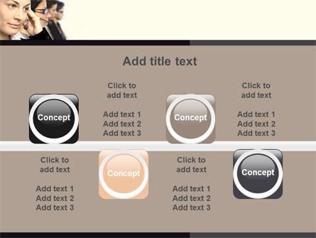Call Center PowerPoint Template Slide 18