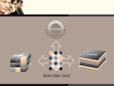 Call Center PowerPoint Template Slide 19