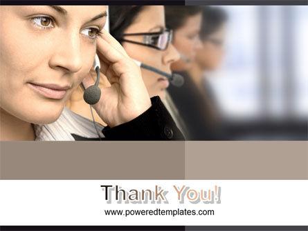 Call Center PowerPoint Template Slide 20