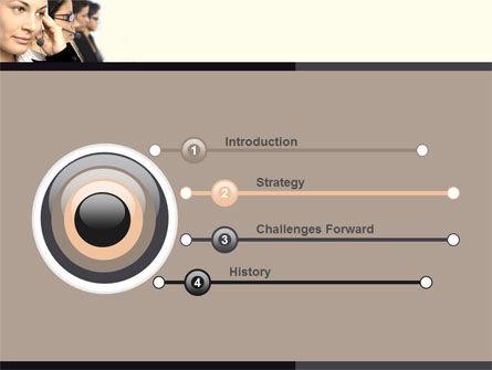 Call Center PowerPoint Template Slide 3