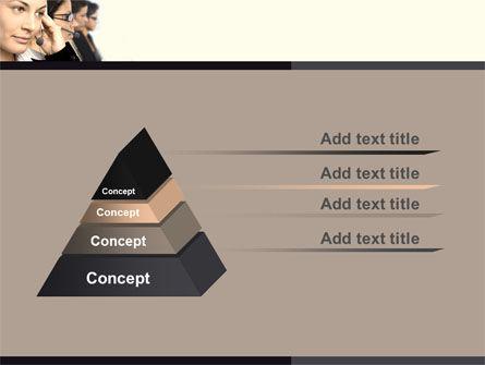 Call Center PowerPoint Template Slide 4