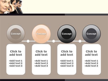 Call Center PowerPoint Template Slide 5