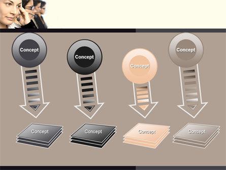 Call Center PowerPoint Template Slide 8