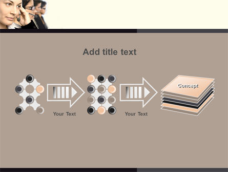 Call Center PowerPoint Template Slide 9