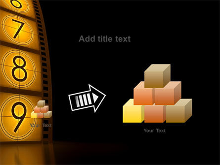 Cinema Strip PowerPoint Template Slide 13