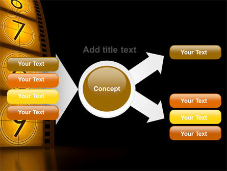 Cinema Strip PowerPoint Template Slide 15