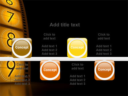 Cinema Strip PowerPoint Template Slide 18