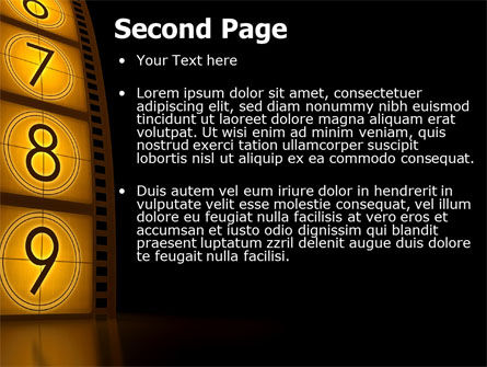 Cinema Strip PowerPoint Template Slide 2