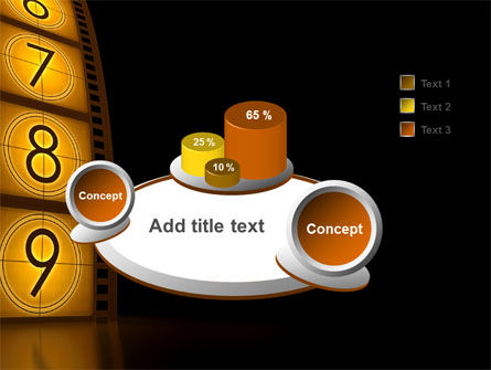 Cinema Strip PowerPoint Template Slide 6