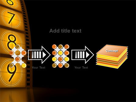 Cinema Strip PowerPoint Template Slide 9
