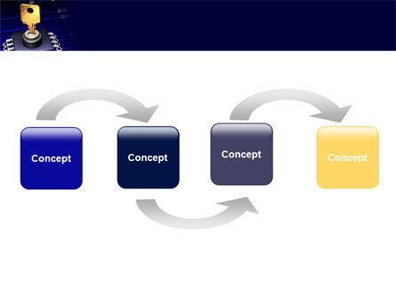 Data Protection Key PowerPoint Template Slide 4