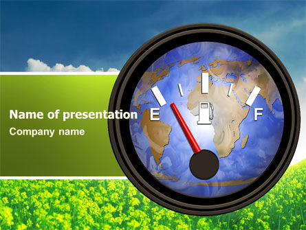 Fuel Meter PowerPoint Template