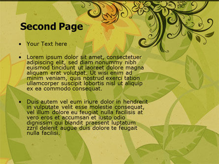 Growing Pattern PowerPoint Template Slide 2