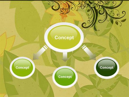 Growing Pattern PowerPoint Template, Slide 4, 05079, Abstract/Textures — PoweredTemplate.com