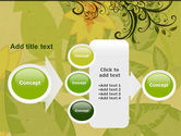Growing Pattern PowerPoint Template#17