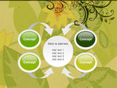 Growing Pattern PowerPoint Template#6