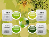 Growing Pattern PowerPoint Template#9