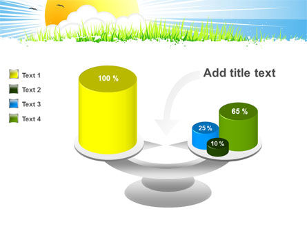 Sunrise Illustration PowerPoint Template Slide 10