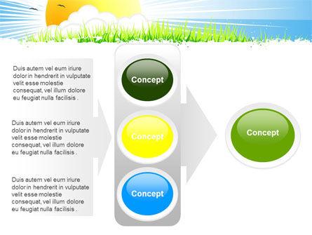 Sunrise Illustration PowerPoint Template Slide 11