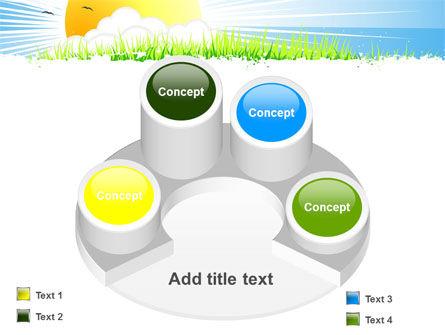 Sunrise Illustration PowerPoint Template Slide 12
