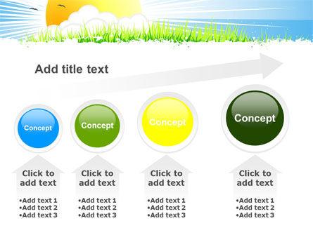 Sunrise Illustration PowerPoint Template Slide 13